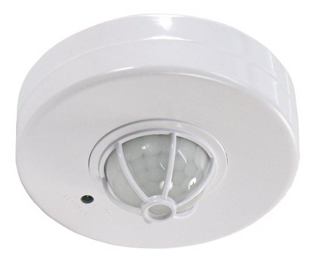 230/V//1200/W McShine Microondas Detector de Movimiento 360//°LX PFI-701/C Color Blanco Adecuado para LED