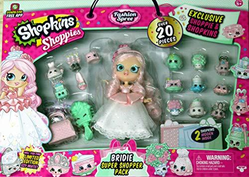 Moose Toys Shopkins Shoppies Fashion Spree Exclusive 20 Piece Bridie Super Shopper Pack -