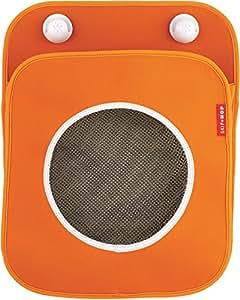 Skip Hop Tubby Bath Toy Organizer, Orange