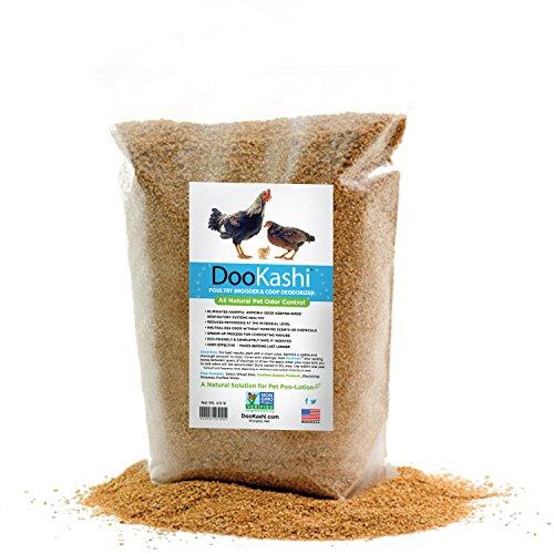 (DooKashi for Poultry Coop Odor Eliminator & Compost Accelerator, 4.5 lb)
