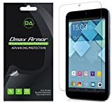 [3-Pack] Dmax Armor ALCATEL ONETOUCH PIXI 7 Anti-Glare & Anti-Fingerprint Screen Protector - Lifetime Replacements Warranty- Retail Packaging