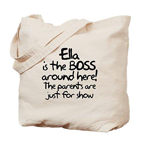 Cloth CafePress Canvas Tote Natural The Ella Is Bag Boss Bag Shopping q8nwOR6rq