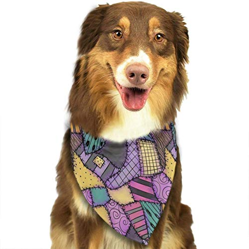 Dog Bandana Sally Ragdoll Pet Scarf Triangle Bibs Kerchief Set Pet Costume Accessories Decoration for Small Medium Large Dogs Cats Pets]()