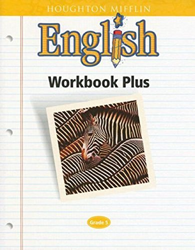 math worksheet : houghton mifflin english workbook plus grade 5 houghton mifflin  : Houghton Mifflin Math Grade 5 Worksheets