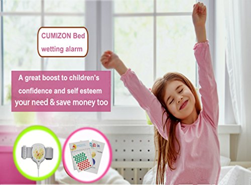 Bedwetting Alarm for Kids Girls & Boys - CUMIZON Potty Training Nocturnal Enuresis Alarm with Loud Sound and Strong Vibration for Deep Sleepers by CM CUMIZON (Image #2)