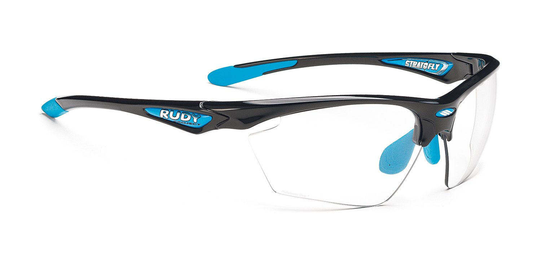 RUDY PROJECT(ルディプロジェクト) ストラトフライ ブラックブルー/フォトクリア 0123SP2366422   B00OY4ICRQ
