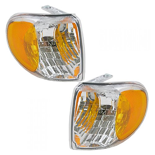 (Side Turn Signal Corner Marker Parking Light Pair Set for 98-01 Mountaineer)