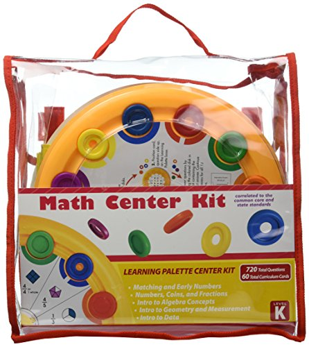 Learning Wrap-ups Palette Kindergarten Math Base Kit (Kindergarten Math Kit)
