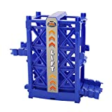 Bend A Path Toy Track Accessory- Elevator and Ramp Track Attachments- Fits ALL Bend A Path Track Vehicle Playsets by Flipo