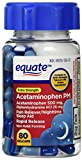 Equate Pain Reliever PM Extra Strength Gel Caps Nighttime Sleep Aid/Pain Reliever, 80 Count