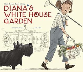 book cover of Diana\'s White House Garden