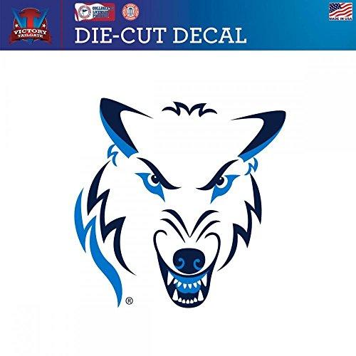 Northwood University Michigan Timberwolves Die-Cut Vinyl Decal (Approx (Northwood University)