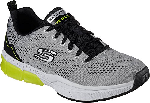 Skechers 0 2 black Da Grey Light Uomo Equalizer 7zSqn7xwPv