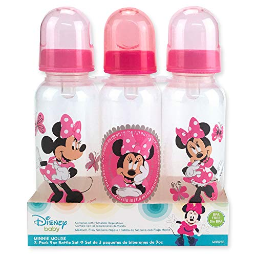 Minnie Mouse Three Pack Deluxe Bottle Set