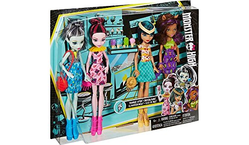 Monster High Ice Scream Ghouls Exclusive 4 Doll Set - Exclusive Doll Set