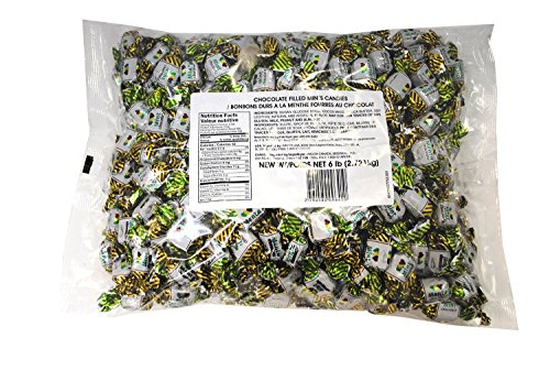 Arcor Chocolate Filled Mints Candies 6 Lb Bag - RoyalCandy (Chocolate Filled Mints)