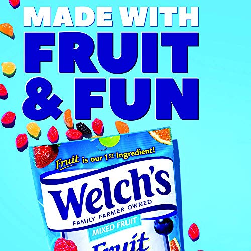 WELCH'S Berries 'n Cherries Fruit Snacks, 0.9 Ounce, 130 Count (130 Count) by Welch's (Image #1)