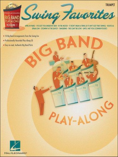 Hal Leonard Swing Favorites Big Band Play-Along Vol. 1 Trumpet ()