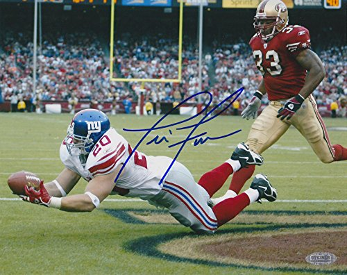 Jim Finn Autographed Photo - NY DIVE vs SAN FRANCISCO 49ers 8x10 COA - Steiner Sports Certified - Autographed NFL - Jims Shop Dive