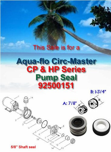 Aqua-Flo CIRC-MASTER CP & HP Series Pump Seal 92500151