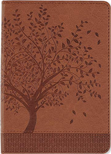 Tree of Life Journal (Vegan Leather Notebook) (Leather Imitation Journal)