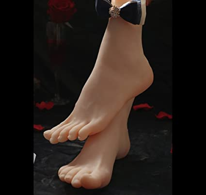 Amazon Com 1 Pair Silicone Lifesize Female Mannequin Leg Foot