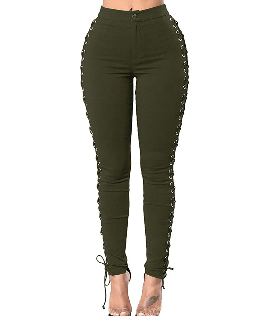 0d35179673401a Style:Hollow Out,Bodycon ,High Waist,Corss lace up.Sexy High Waist Cross  Lace Up Pants Fitness Pencil Bpdycon Leggings ...