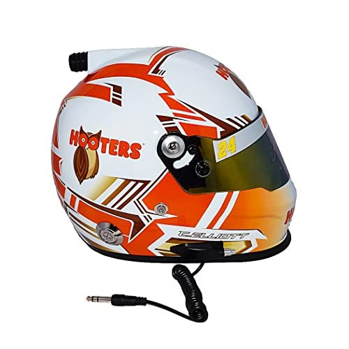 Chase Elliott Full Size Hooters Collectible NASCAR Replica Helmet
