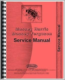 new massey ferguson 3070 tractor chassis service manual amazon com rh amazon com