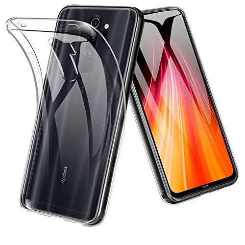 Lustree Back Cover for Xiaomi Redmi Note 8 Pro  Silicone|Transparent