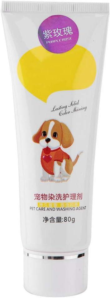 Tinte de pelo para perros de 80 g, tinte para colorear ...