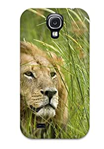 Awesome Design Lion Hard Case Cover For Galaxy S4