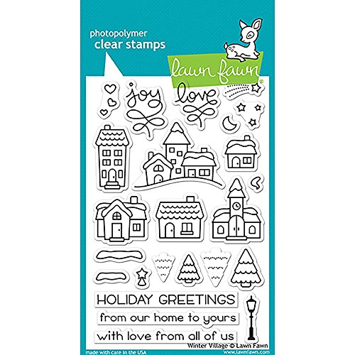 Hillside Village (LAWN FAWN Clear Stamps 4