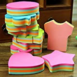 ARCTURUS 5PC Colorful Memo Pad Paper Sticker Sticky Note Post Stationery School Supply