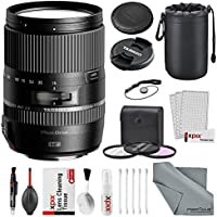 Xpix Tamron 16-300mm f/3.5-6.3 Di II VC PZD Macro Lens for Nikon F, Basic Accessory Bundle, 3Pc. Filter Kit, Lens Pouch, Professional Cleaning Kit.