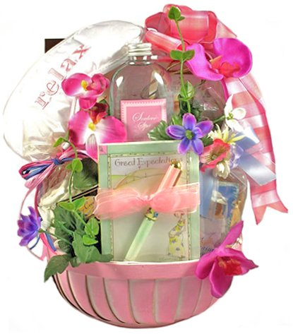Great Expectations Gift Basket for Expectant Mothers - Pregnancy Congratulations for Mommy-To-Be