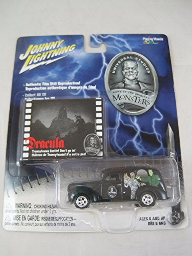 Universal Monsters Dracula Johnny Lightning 1940 Ford Panel Delivery Truck Car