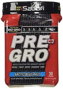 iSatori Pre-Gro Arctic Blue Razz 30 Servings 8.47 Oz