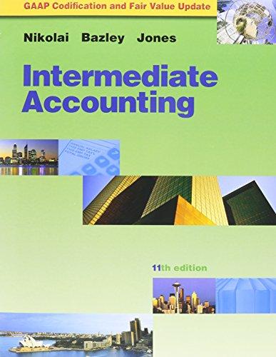 Intermediate Accounting Update Booklet