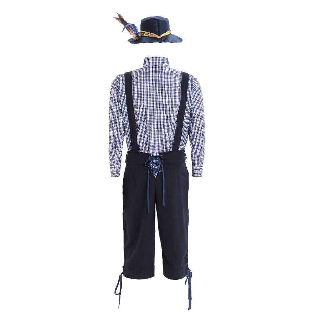 UFODB - Conjunto de camisa de traje típico bávaro para ...