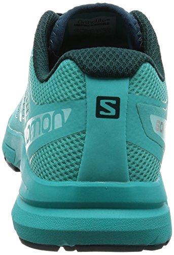 Salomon Sonic Pro 2 W, Zapatillas de Trail Running Mujer Varios colores (Ceramic/Deep Teal/Aruba Blue)