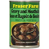 Fraser Farm Meatballs Gravy and Meatballs (Pack of 24)