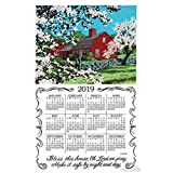 Bless This House Towel Calendar, Kitchen Towel by Kay Dee Designs