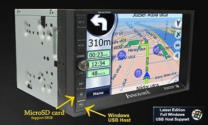 """Innovatek IN-W72GPS In-Dash 7"""" Digital Touch Screen Double Din WiFi 3G"""