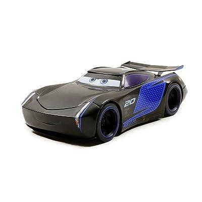Jazwares 98327 Pixar Cars 3 - Jackson Storm, Echelle 1/24