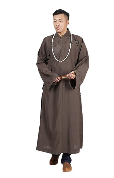 ZanYing Buddhist Monk Meditation Robe Kung Fu Shaolin Gown