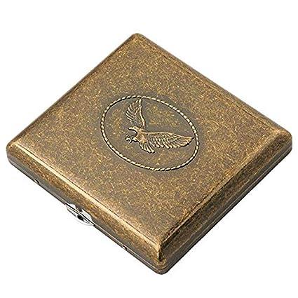 YXZN Caja De Cigarrillos Automático Portátil Antiguos ...