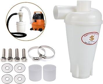 ciclónico polvo filtro separador aspirador Aspiradora aspiración mazarotas separador separador ciclónico Dust Commander: Amazon.es: Bricolaje y herramientas