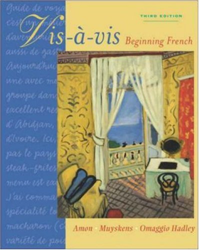Vis-a-vis: Beginning French (Student Edition) for sale  Delivered anywhere in USA
