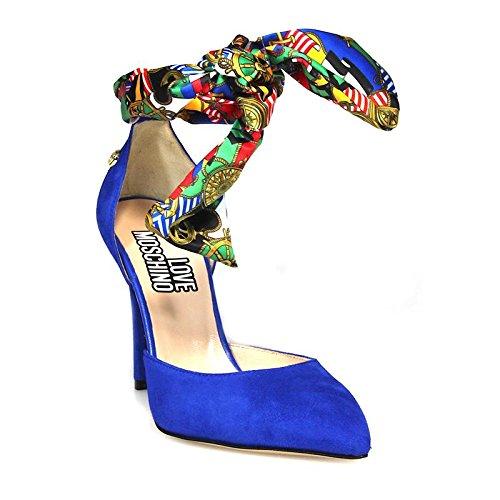 Love Moschino , Escarpins pour femme Bleu Blu